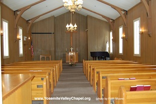 Photo: Chapel Interior: from Rear to Front